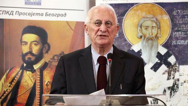 Матија Бећковић - Sputnik Србија