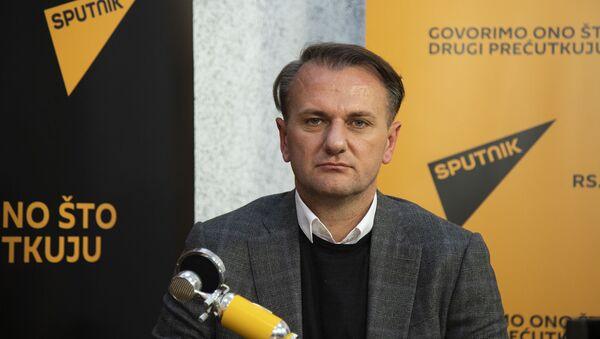 Predsednik KK Partizan Ostoja Mijailović - Sputnik Srbija