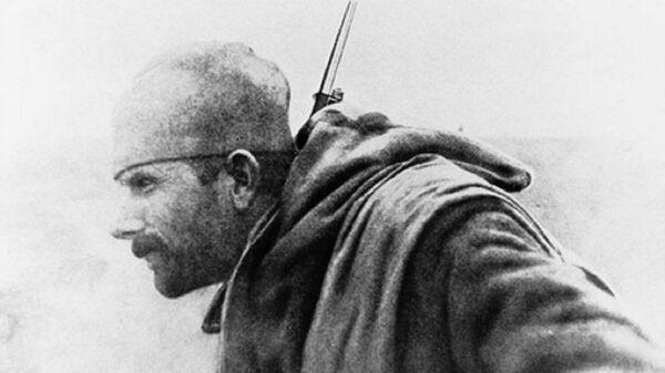 Српски војник Драгутин Матић познат као Око соколово - Sputnik Србија