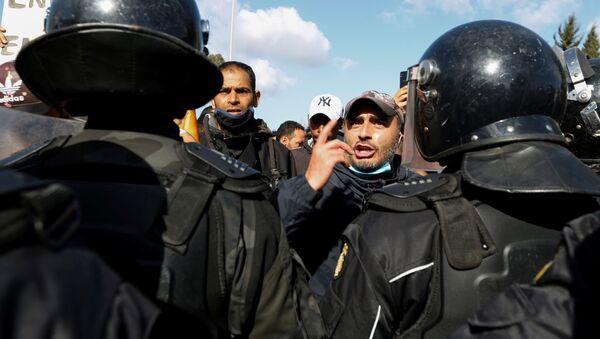Protesti u Tunisu - Sputnik Srbija