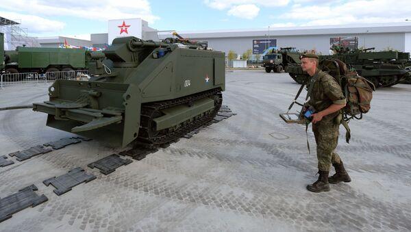 "Роботизовани систем ""Уран-14"" - Sputnik Србија"