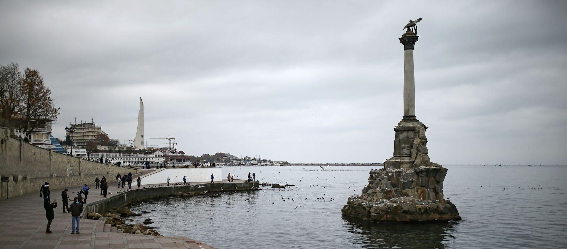 Споменик потопљеним бродовима у Севастопољу - Sputnik Србија, 1920, 05.06.2021