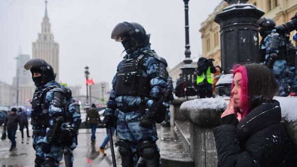 Protesti u Moskvi - Sputnik Srbija