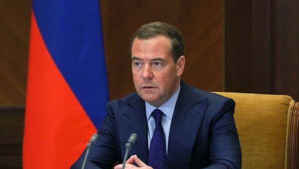 Заменик председника Савета безбедности Русије Дмитриј Медведев - Sputnik Србија