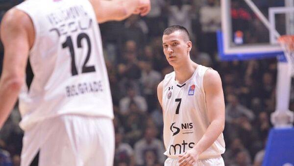 Srpski košarkaš Aleksandar Aranitović - Sputnik Srbija