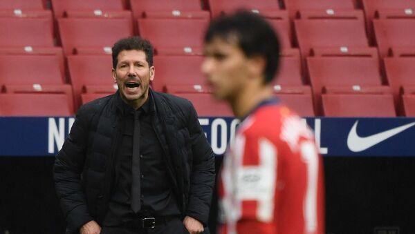 Тренер Атлетико Мадрида Дијего Симеоне - Sputnik Србија