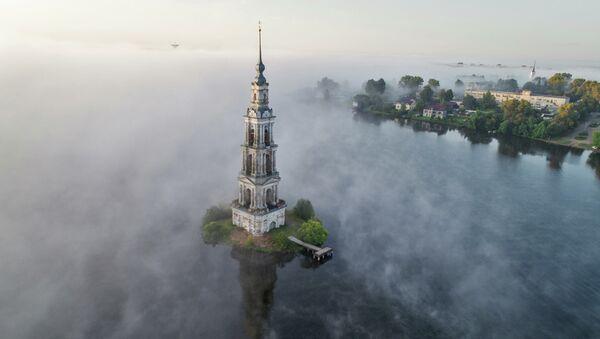 Zvonik Nikoljskog hrama, grad Kaljazin, Tverska oblast - Sputnik Srbija