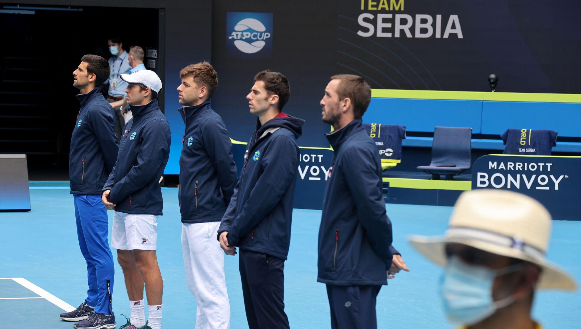 Srpski teniseri u Melburnu - Sputnik Srbija, 1920, 04.02.2021