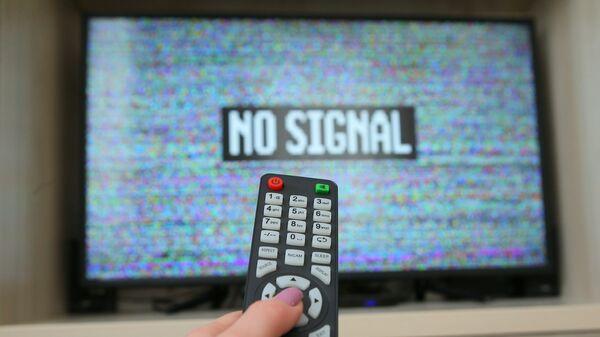Екран телевизора са белим шумом - Sputnik Србија