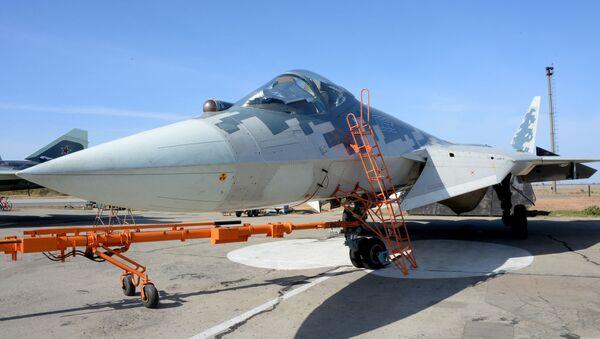 Вишенаменски ловац пете генерације Су-57 - Sputnik Србија