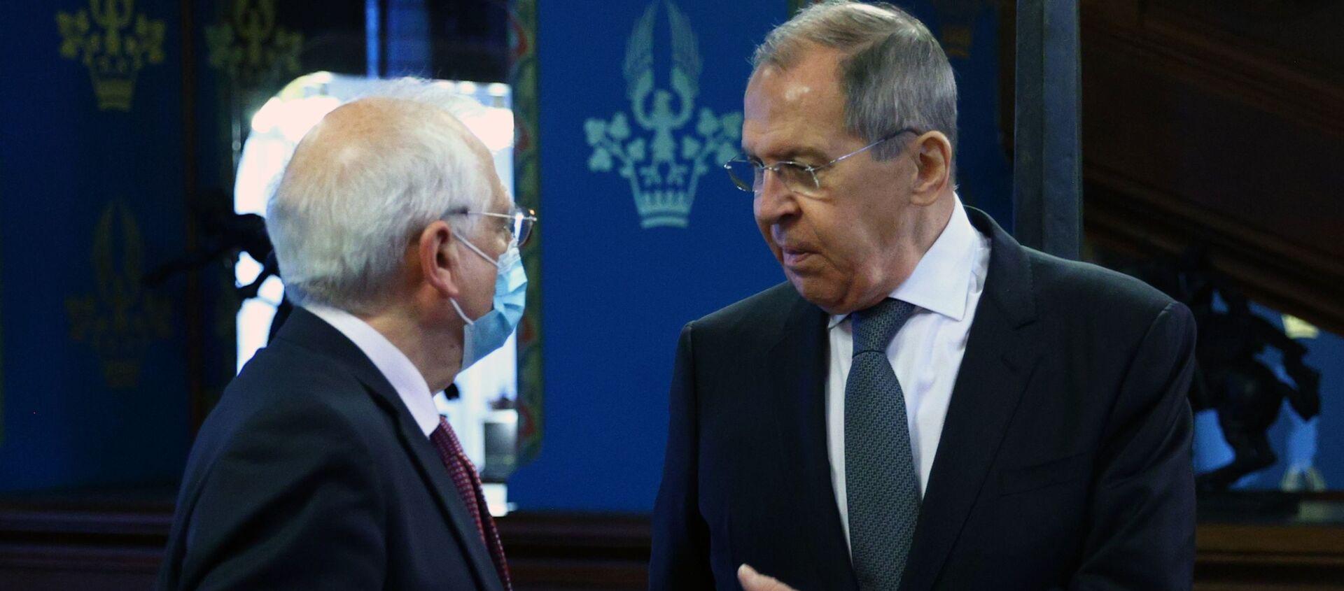 Лавров Борељу: Одсуство нормалности у односима Русије и ЕУ никоме не користи - Sputnik Србија, 1920, 05.02.2021