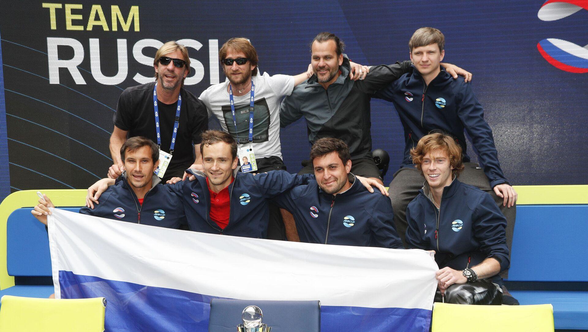 Rusija Dejvis kup tim - Sputnik Srbija, 1920, 07.02.2021