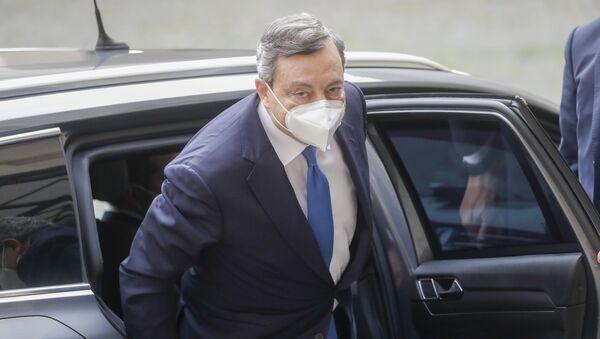 Марио Драги - Sputnik Србија