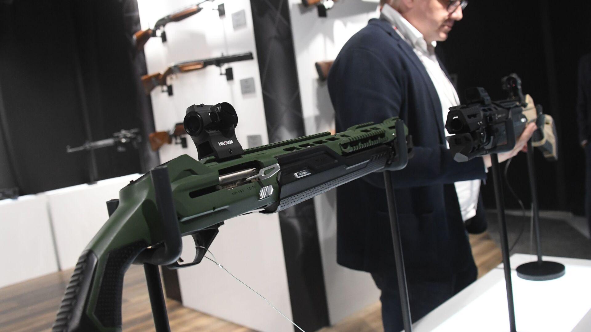 Паметан пиштољ МП-155 Ултима 12, Калашњиков - Sputnik Србија, 1920, 20.09.2021