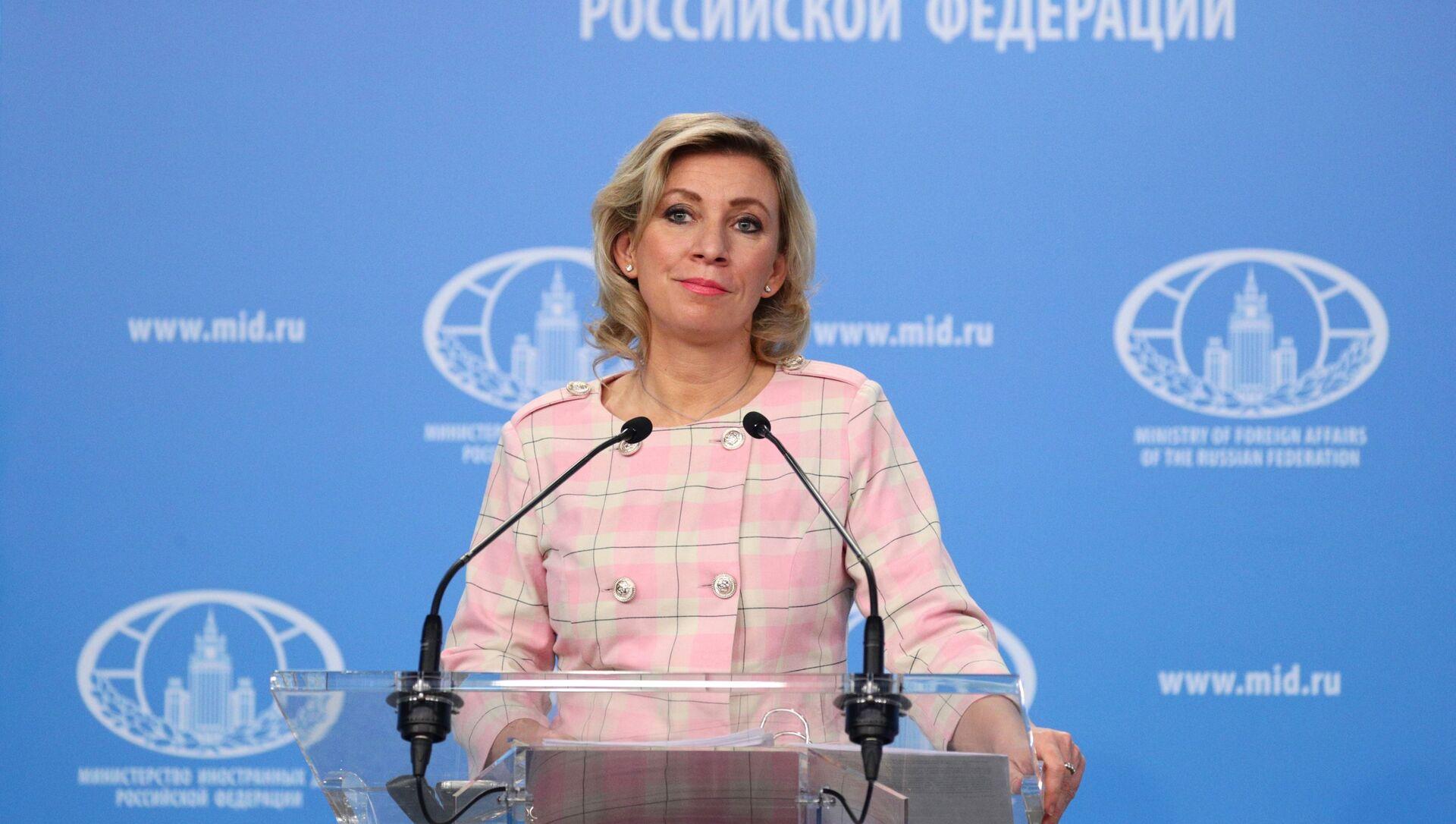 Portparolka Ministarstva spoljnih poslova Rusije Marija Zaharova - Sputnik Srbija, 1920, 12.02.2021