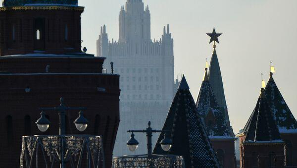 Поглед на московски Кремљ и МИП Русије - Sputnik Србија