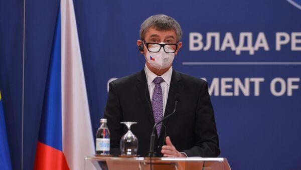 Чешки премијер Андреј Бабиш - Sputnik Србија