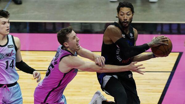 Američki košarkaš Derik Rouz  - Sputnik Srbija