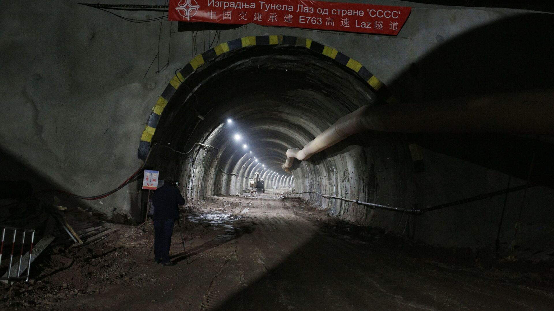 Tunel na deonici auto-puta Miloš Veliki od Čačka do Požege. - Sputnik Srbija, 1920, 22.09.2021