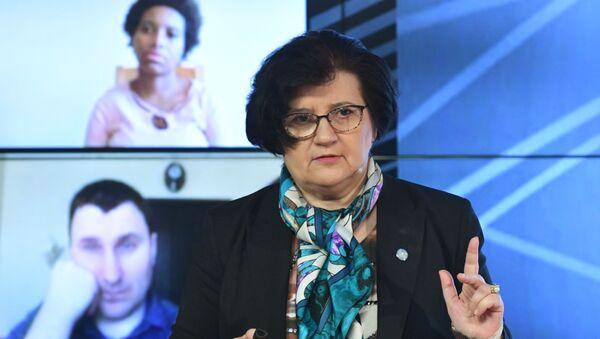 Predstavnica SZO u Rusiji Melita Vujnović - Sputnik Srbija