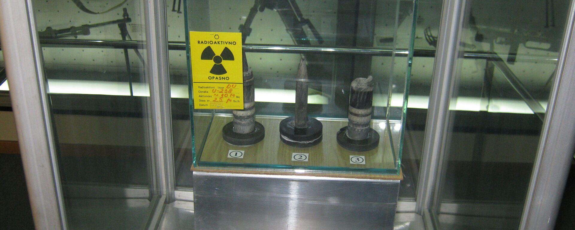 Остаци бомби са осиромашеним уранијумом које су кориштене током НАТО агресије на СРЈ 1999. године - Sputnik Србија, 1920, 09.06.2021