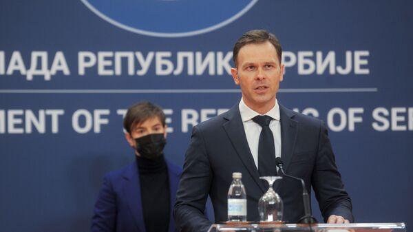 Министар финансија Синиша Мали - Sputnik Србија