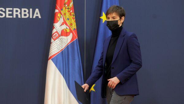 Premijerka Srbije Ana Brnabić - Sputnik Srbija