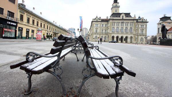 Hladno vreme u Novom Sadu - Sputnik Srbija