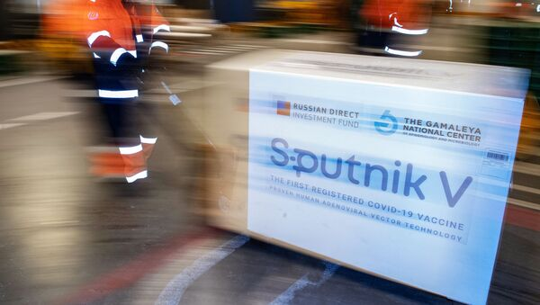 Dostava ruske vakcine protiv virusa korona Sputnjik Ve  - Sputnik Srbija