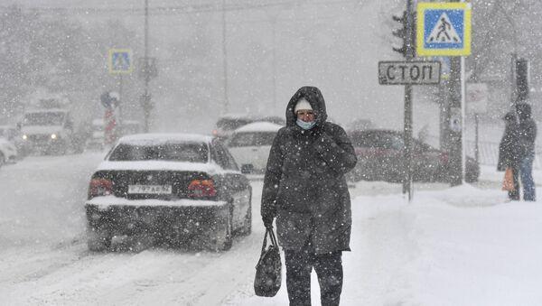 Јак снег на југу Русије - Sputnik Србија