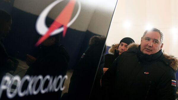 Generalni direktor korporacije Roskosmos Dmitrij Rogozin - Sputnik Srbija