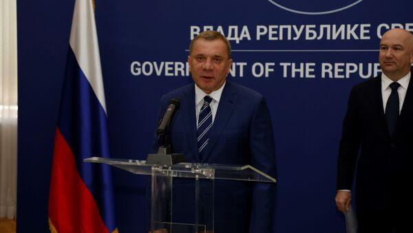 Потпредседник руске Владе Јуриј Борисов - Sputnik Србија