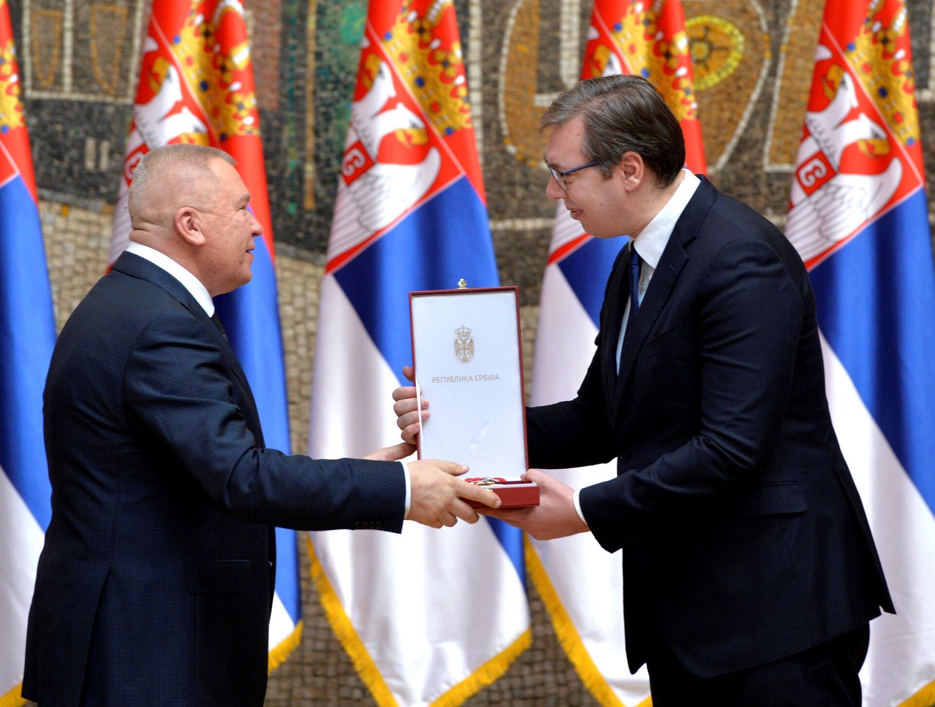Uručena odlikovanja: Vučić — Sretenje veliki dan za Srbiju /foto/ - Sputnik Srbija, 1920, 15.02.2021