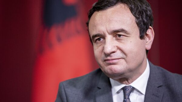Lider pokreta Samoopredeljenje Aljbin Kurti - Sputnik Srbija
