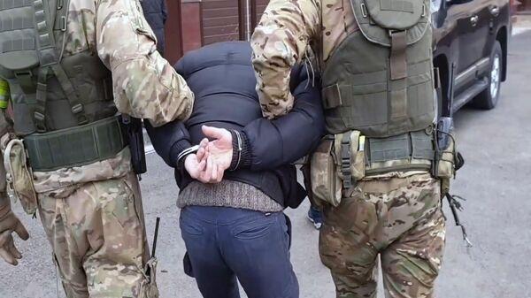 Pripadnici FSB-a privode teroriste - Sputnik Srbija