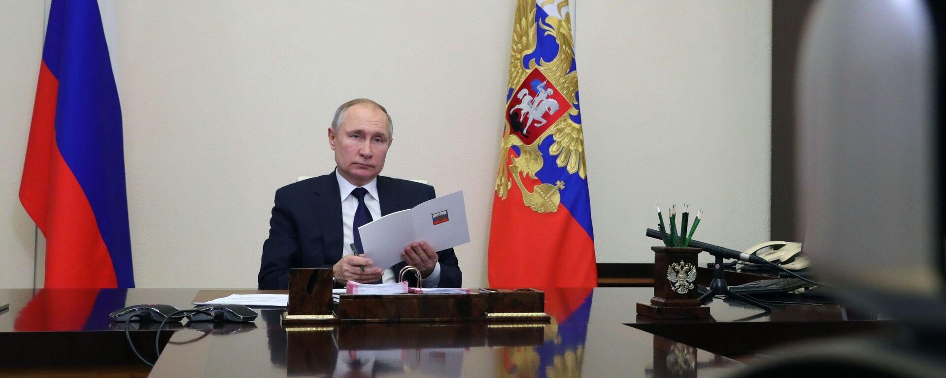 Predsednik Rusije Vladimir Putin - Sputnik Srbija, 1920, 17.02.2021