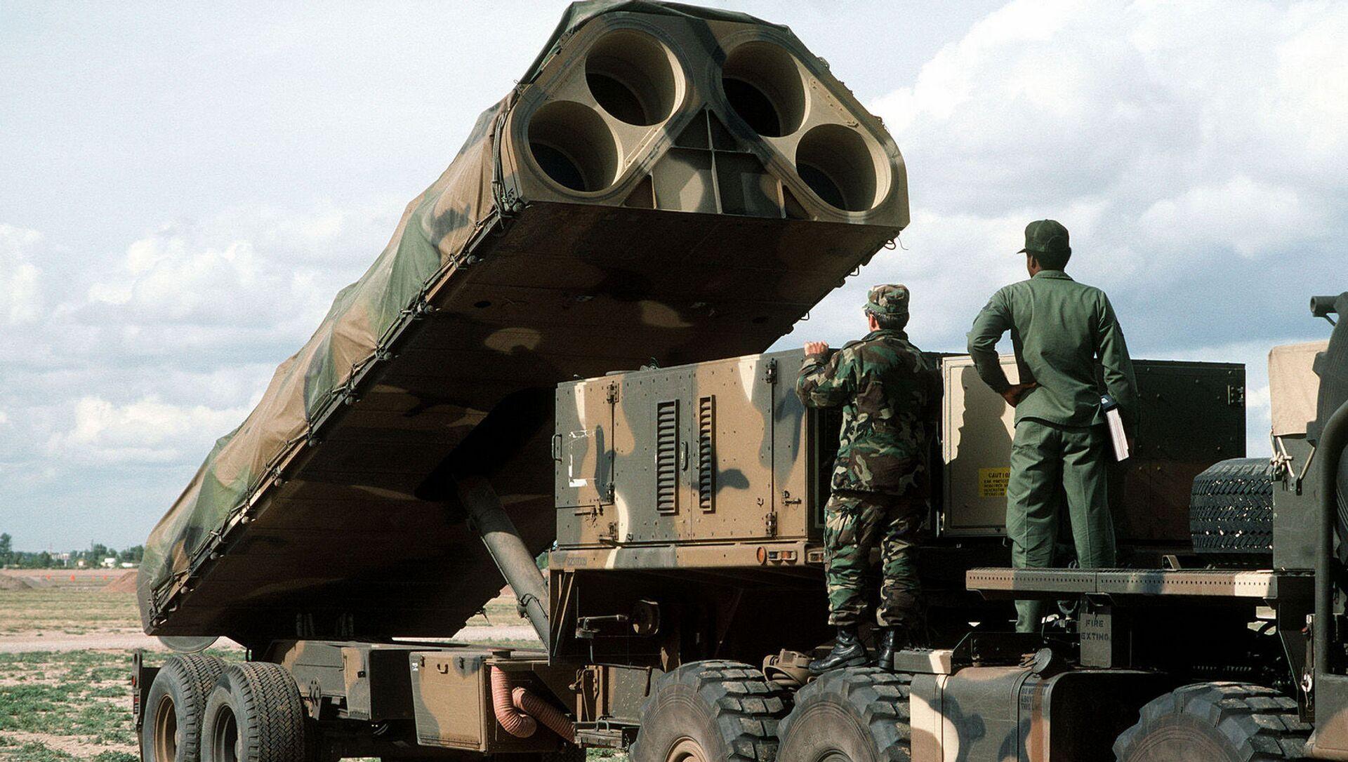 Američki mobilni lanserni sistem BGM-109G Grifon  - Sputnik Srbija, 1920, 18.02.2021