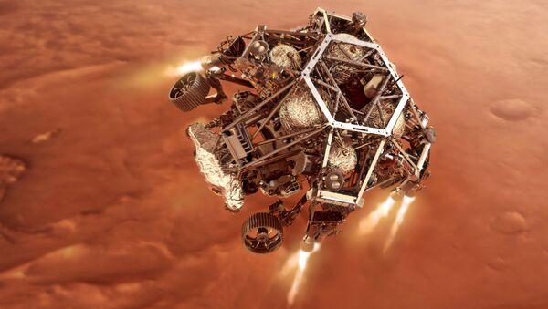"Rover ""Istrajnost"" sleće na Mars - Sputnik Srbija"