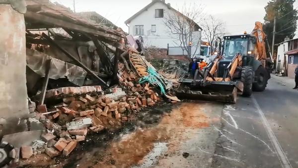 Несрећа у Хусовој улици - Sputnik Србија