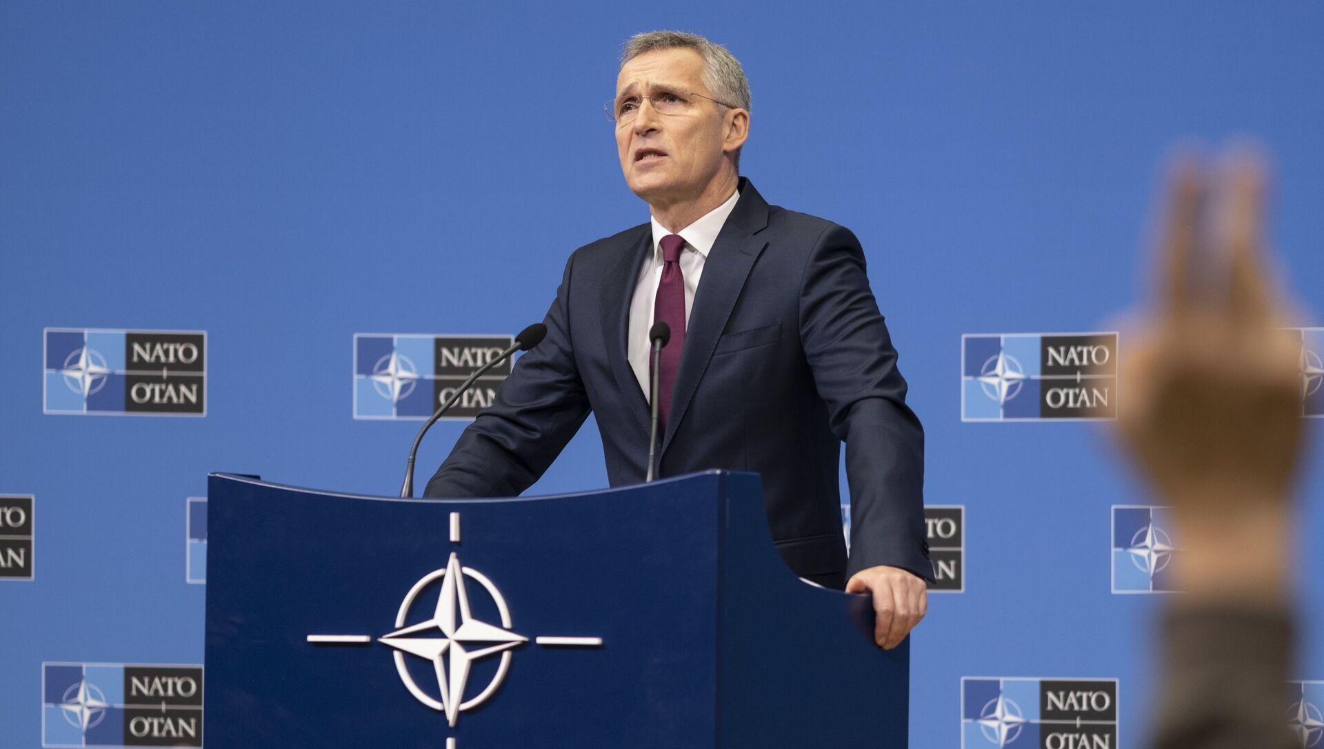 Генерални секретар НАТО Јенс Столтенберг - Sputnik Србија, 1920, 23.03.2021