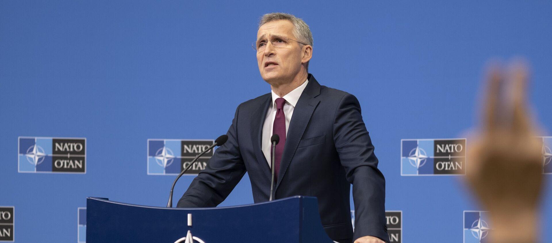 Генерални секретар НАТО Јенс Столтенберг - Sputnik Србија, 1920, 27.05.2021