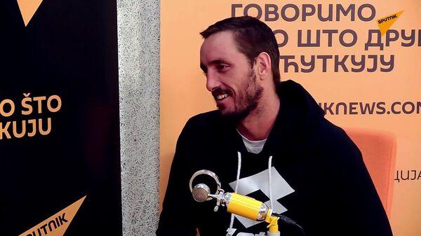 Српски тенисер Виктор Троицки - Sputnik Србија