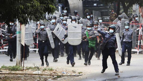 Demonstracije u Mjanmaru - Sputnik Srbija
