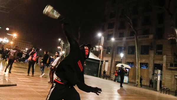 Протести у Барселони - Sputnik Србија