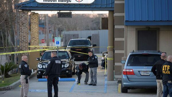 Uviđaj posle pucnjave u prodavnici oružja u Nju Orleansu - Sputnik Srbija