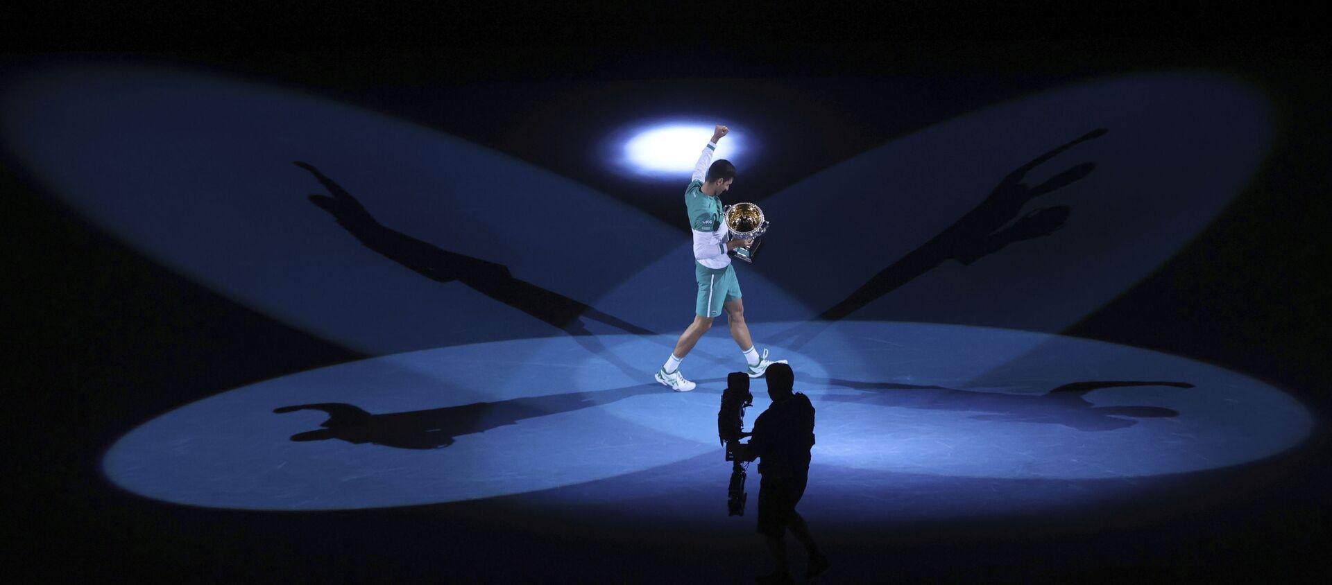 Novak Đoković, Australijan open 2021. - Sputnik Srbija, 1920, 22.02.2021