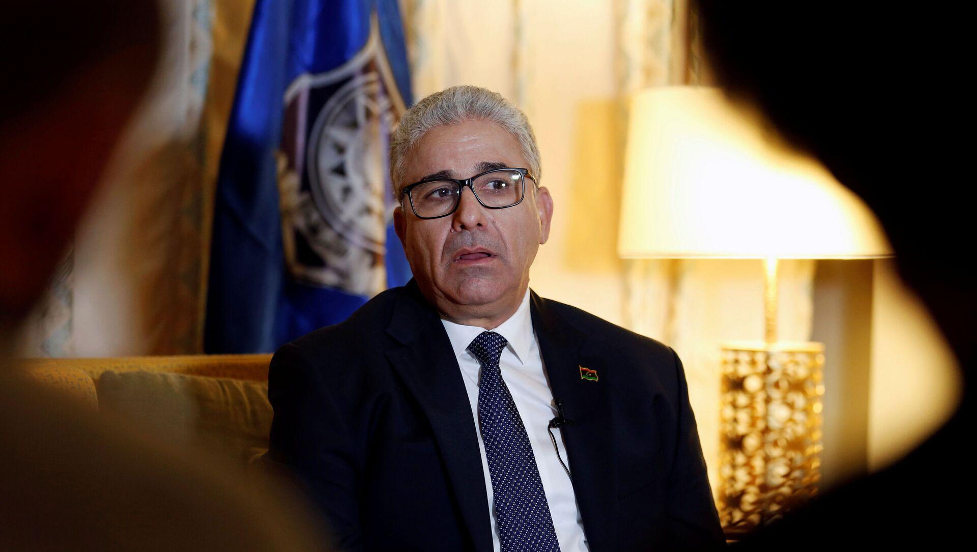 Ministar unutrašnjih poslova Libije Fathi Bašaga - Sputnik Srbija, 1920, 21.02.2021