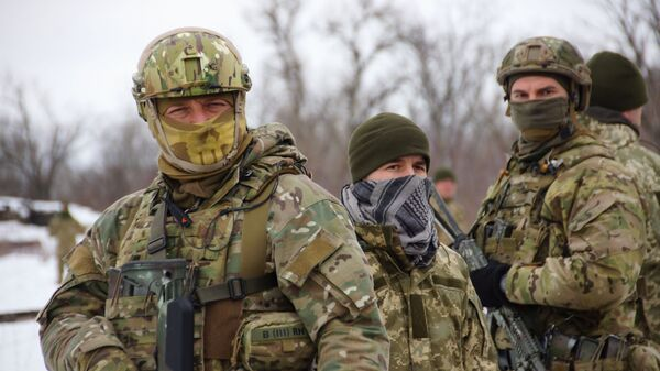 Ukrajinska vojska u Donbasu - Sputnik Srbija