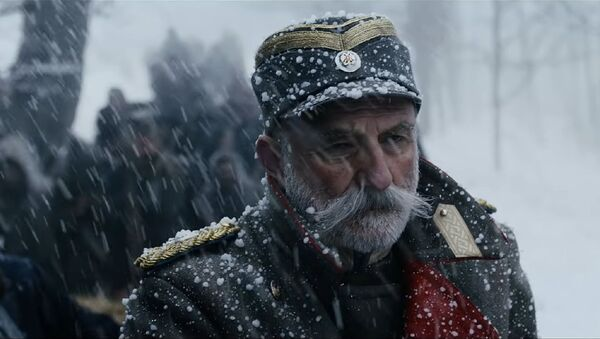 Лазар Ристовски у сцени из филма Краљ Петар Први - Sputnik Србија
