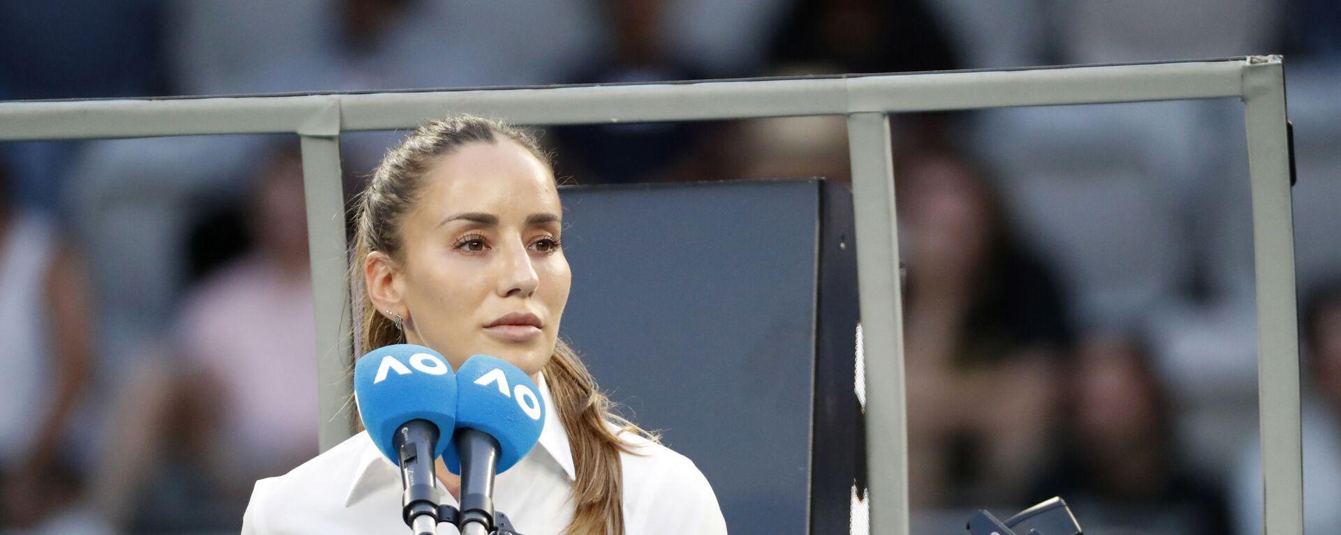 Маријана Вељовић, српски тениски судија - Sputnik Србија, 1920, 25.02.2021